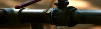Lekdetectie Apeldoorn ontdekt een lekkage aan een koppelstuk van een leiding
